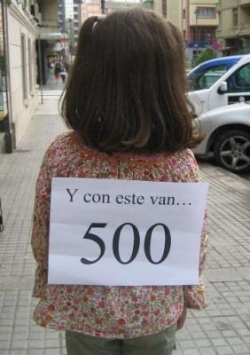 Más de 500