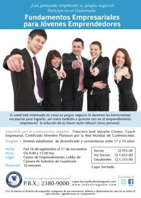 SEGUNDO DIPLOMADO: Fundamentos empresariales para Jóvenes emprendedores.